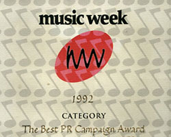 Music Week Award
